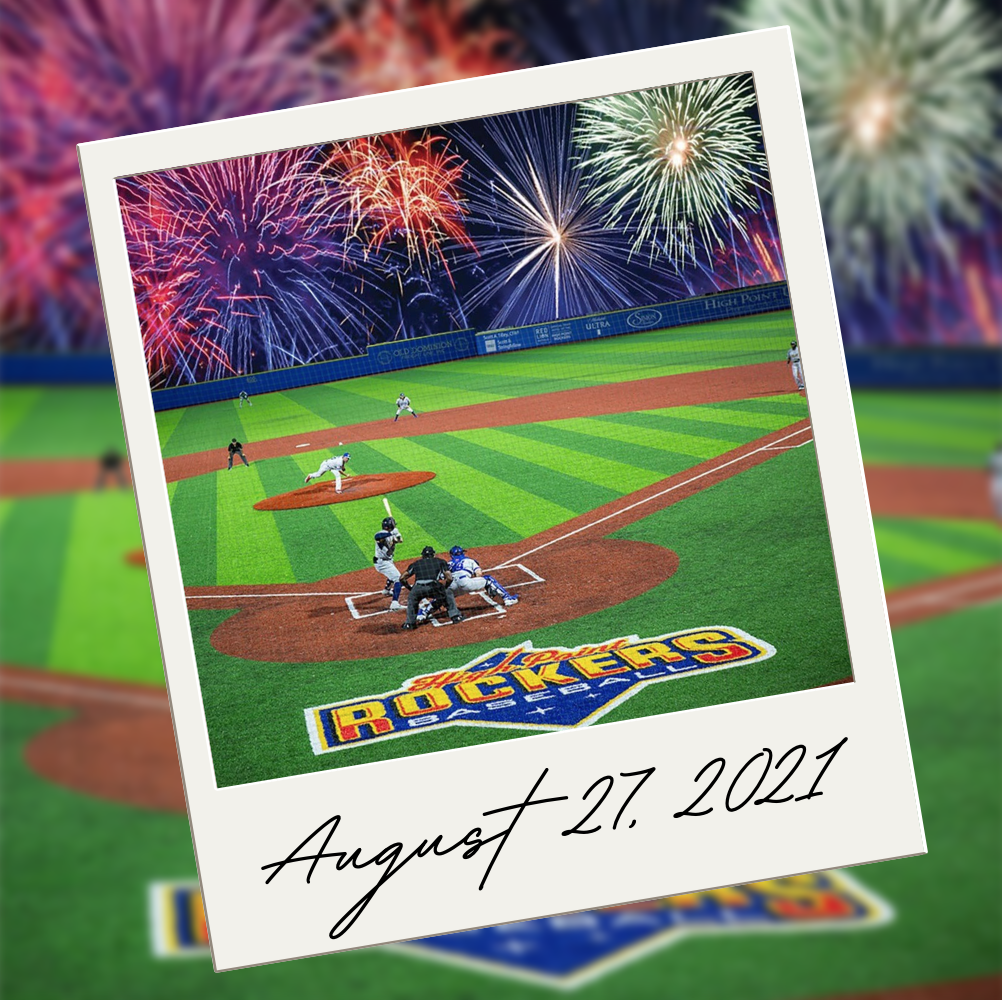 rockers baseball august 27th 2021 - things to do in high point nc