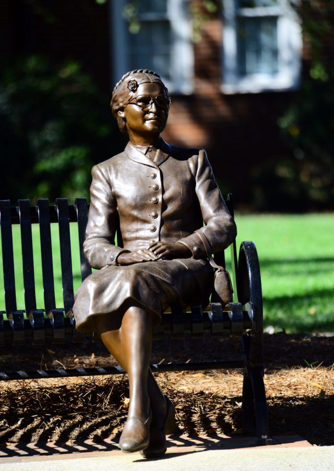 Rosa Parks statue in High Point NC